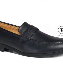 Giày lười da nam cho dân văn phòng GL62 đen