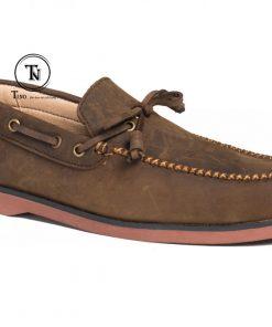 Giày lười da sáp boat GL99